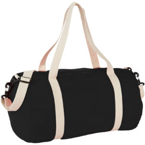 Cochichuate cotton barrel duffel bag (12019500)