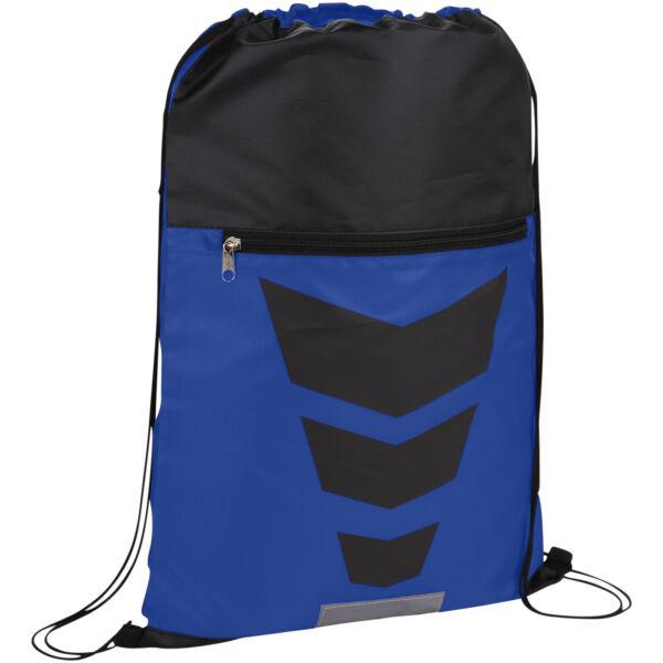 Courtside zippered pocket drawstring backpack (12024900)