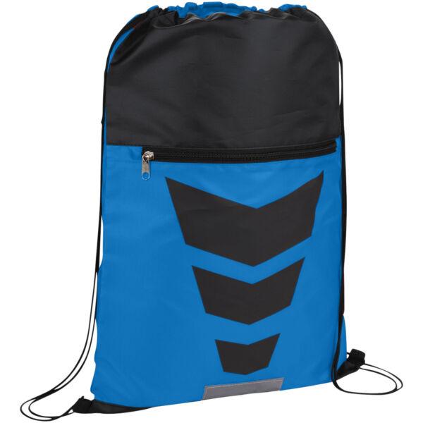 Courtside zippered pocket drawstring backpack (12024901)