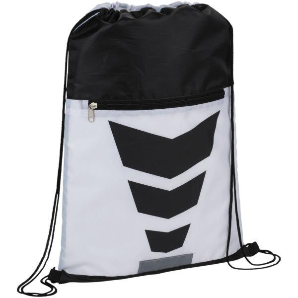 Courtside zippered pocket drawstring backpack (12024902)