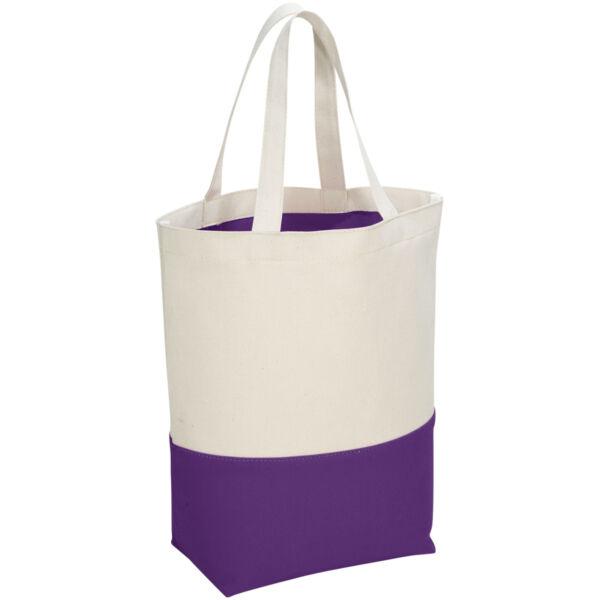 Colour-pop 284 g/m² cotton tote bag (12025802)