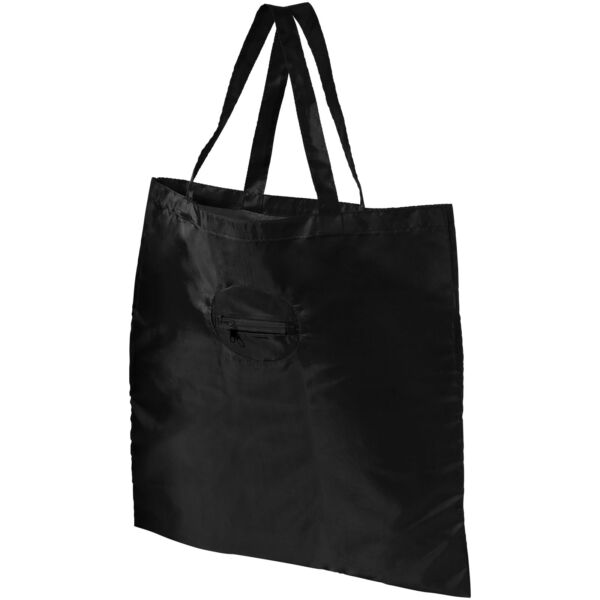Take-away foldable shopping tote bag with keychain (12027200)