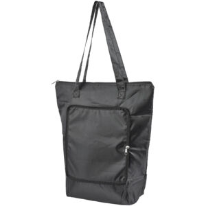 Cool-down zippered foldable cooler tote bag (12027300)