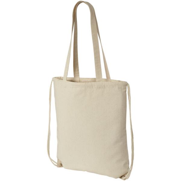 Eliza 240 g/m² cotton drawstring backpack (12027600)