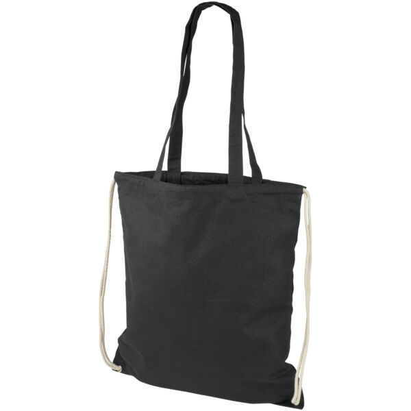 Eliza 240 g/m² cotton drawstring backpack (12027601)