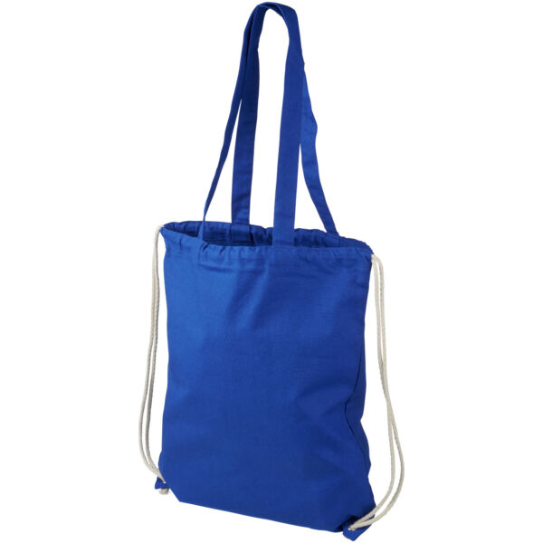Eliza 240 g/m² cotton drawstring backpack (12027602)