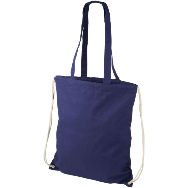 Eliza 240 g/m² cotton drawstring backpack (12027603)