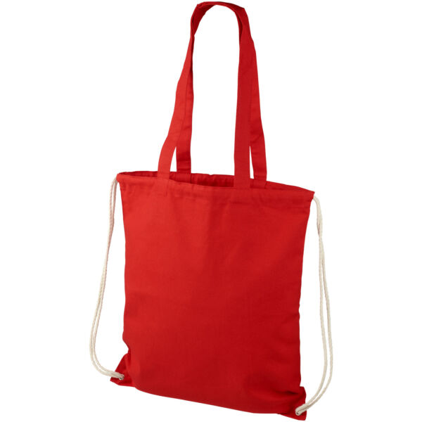 Eliza 240 g/m² cotton drawstring backpack (12027604)