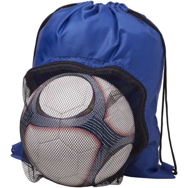 Goal drawstring backpack with football compartment (12030000)