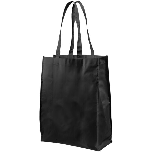 Conessa laminated shopping tote bag (12034600)