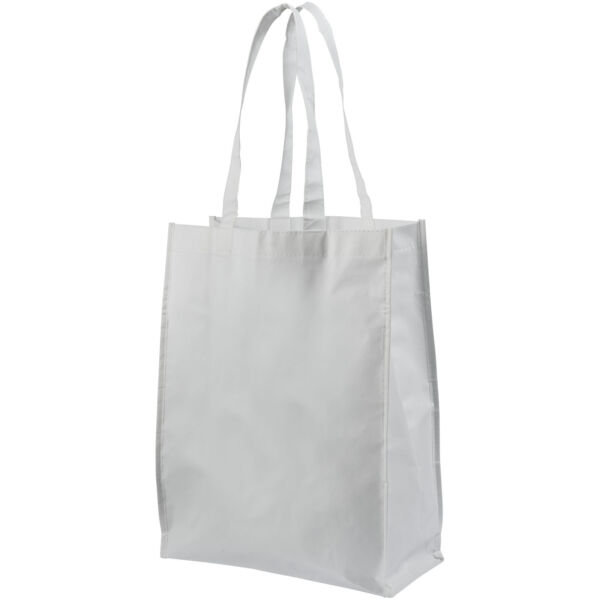 Conessa laminated shopping tote bag (12034601)
