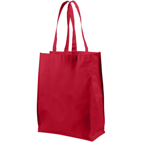 Conessa laminated shopping tote bag (12034602)