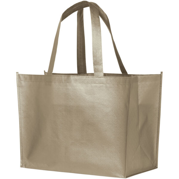 Alloy laminated non-woven shopping tote bag (12039402)