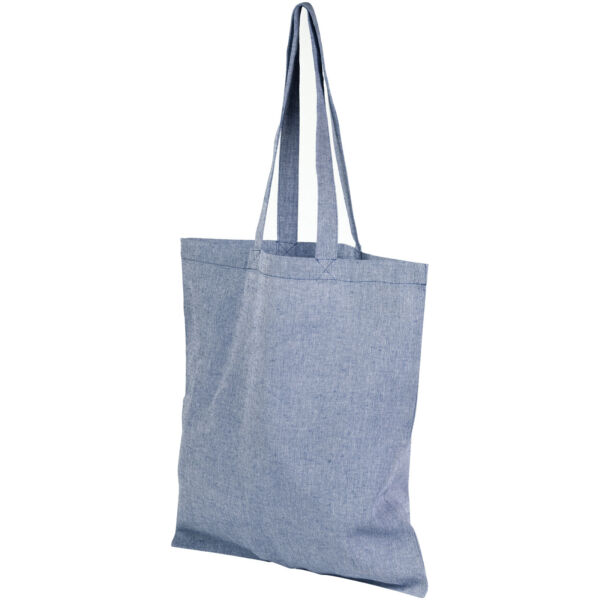 Pheebs 150 g/m² recycled cotton tote bag (12041002)
