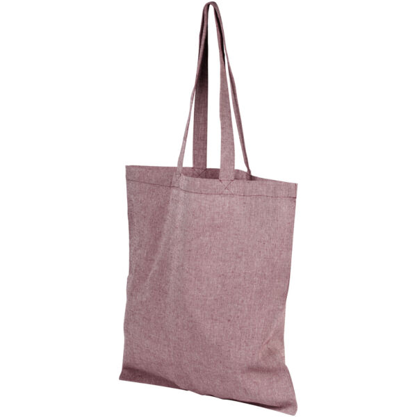 Pheebs 150 g/m² recycled cotton tote bag (12041004)