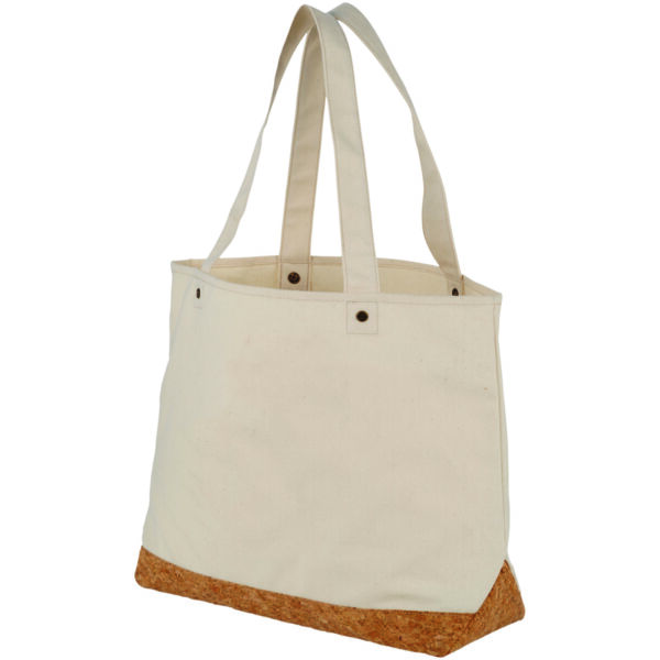 Napa 406 g/m² cotton and cork tote bag (12041300)