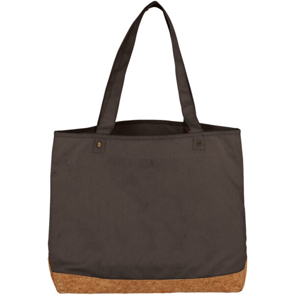 Napa 406 g/m² cotton and cork tote bag (12041301)