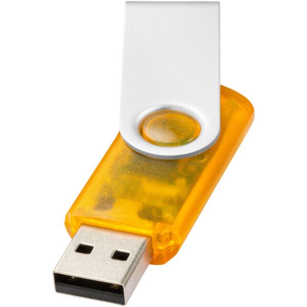 Rotate-translucent 2GB USB flash drive (12351602)
