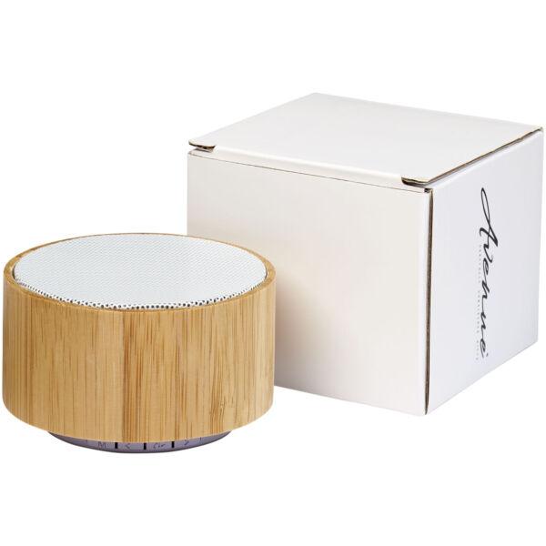 Cosmos bamboo Bluetooth® speaker (12410001)