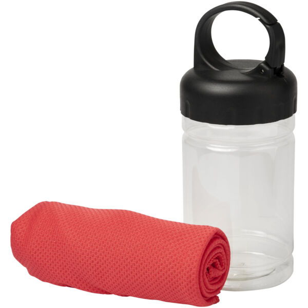 Remy cooling towel in PET container (12617004)