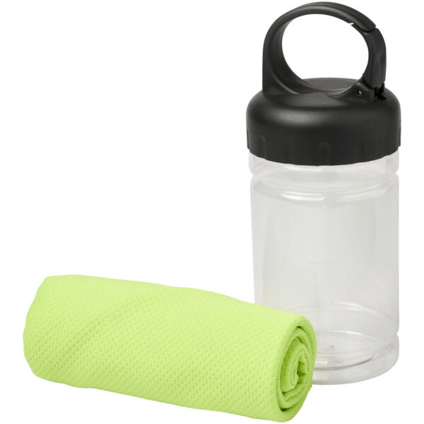 Remy cooling towel in PET container (12617009)