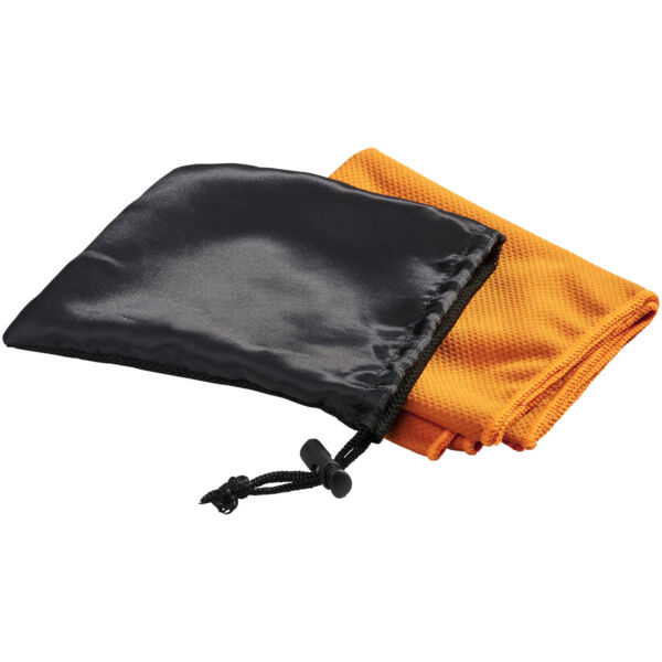 Peter cooling towel in mesh pouch (12617108)