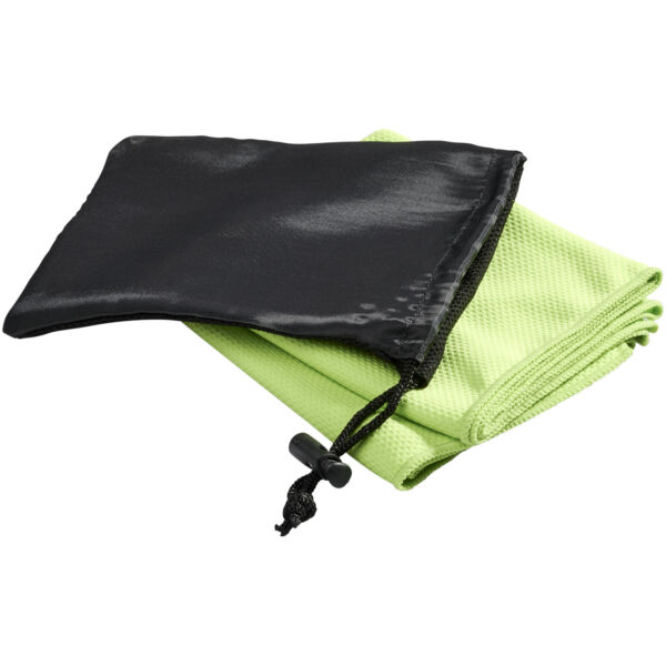 Peter cooling towel in mesh pouch (12617109)