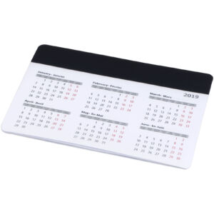 Chart mouse pad with calendar (13496500)