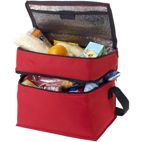 Oslo 2-zippered compartments cooler bag (19549023)