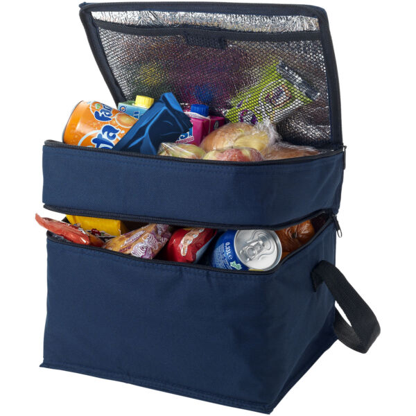 Oslo 2-zippered compartments cooler bag (19549024)