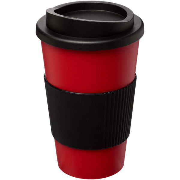 Americano® 350 ml insulated tumbler with grip (21000216)