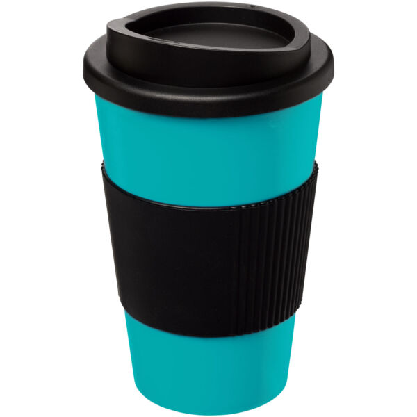 Americano® 350 ml insulated tumbler with grip (21000218)