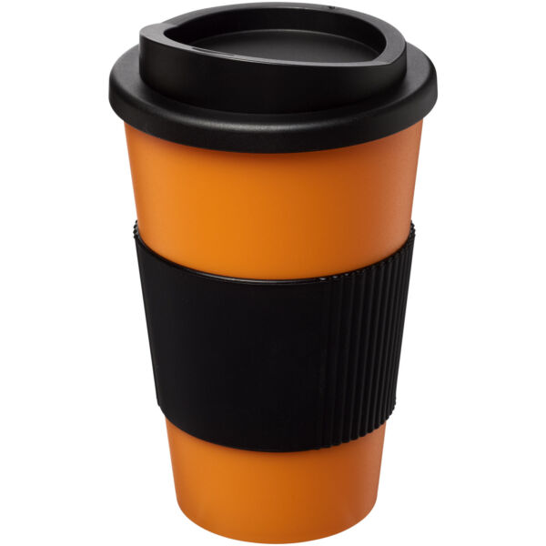 Americano® 350 ml insulated tumbler with grip (21000222)