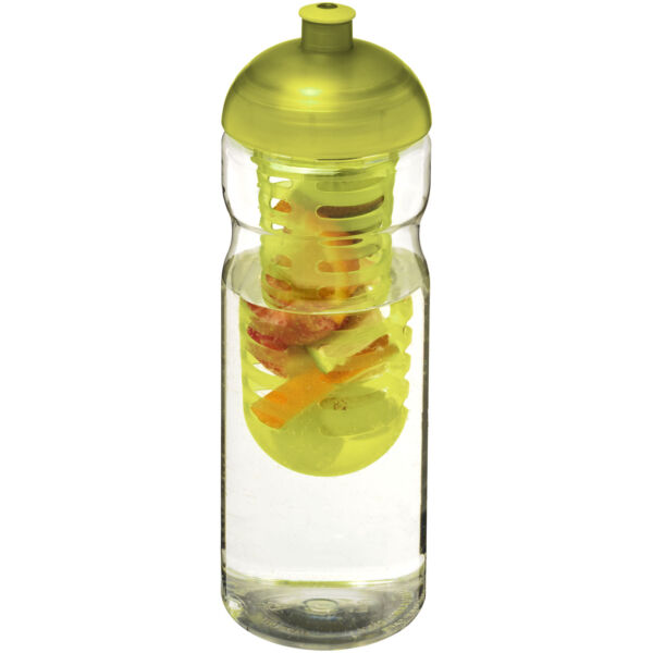 H2O Base® 650 ml dome lid sport bottle & infuser (21004803)
