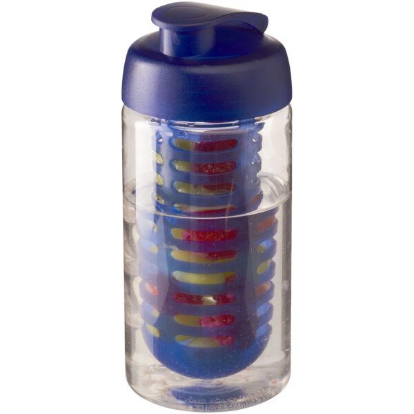 H2O Bop® 500 ml flip lid sport bottle & infuser (21005101)