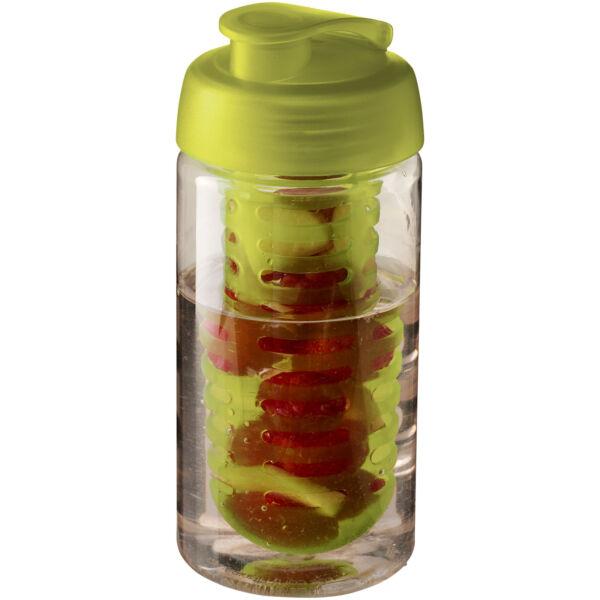 H2O Bop® 500 ml flip lid sport bottle & infuser (21005103)