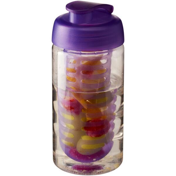 H2O Bop® 500 ml flip lid sport bottle & infuser (21005107)