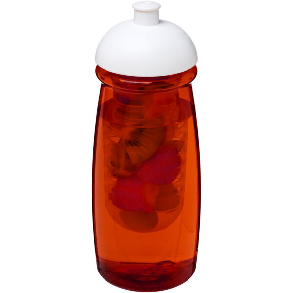 H2O Pulse® 600 ml dome lid sport bottle & infuser (21005701)