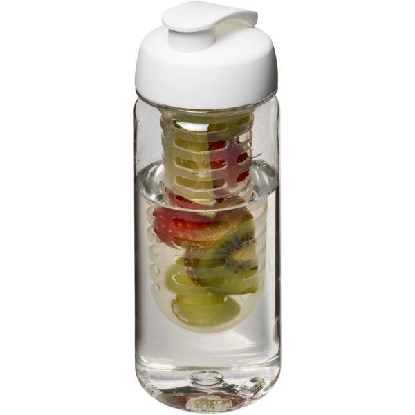 H2O Octave Tritan™ 600 ml flip lid bottle & infuser (21006400)