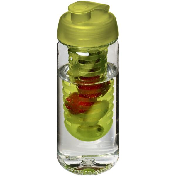 H2O Octave Tritan™ 600 ml flip lid bottle & infuser (21006403)