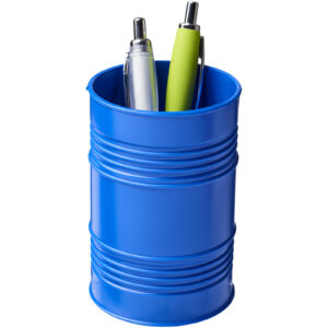 Bardo oil drum style plastic pen pot (21050600)