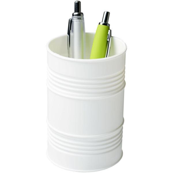 Bardo oil drum style plastic pen pot (21050602)