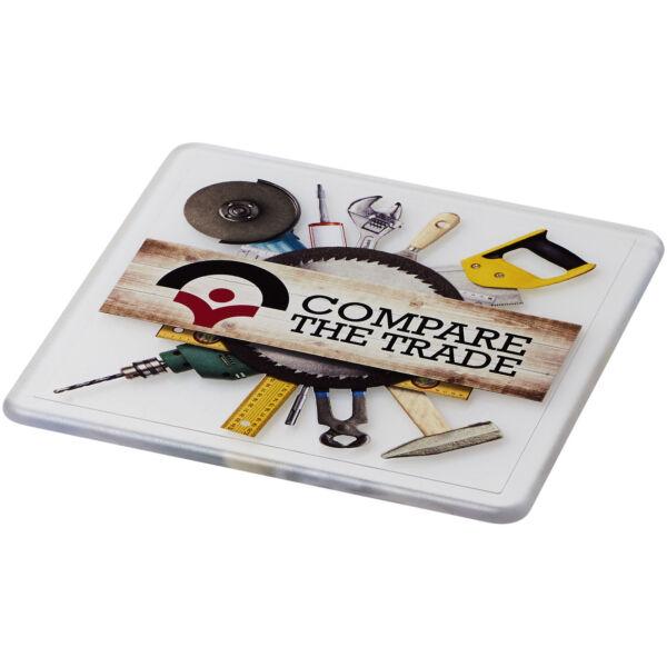 Renzo square plastic coaster (21051600)