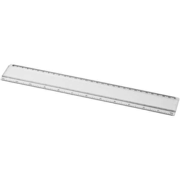 Ellison 30 cm plastic ruler with paper insert (21053700)