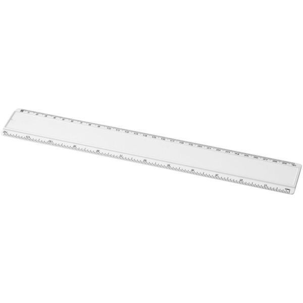 Ellison 30 cm plastic ruler with paper insert (21053701)