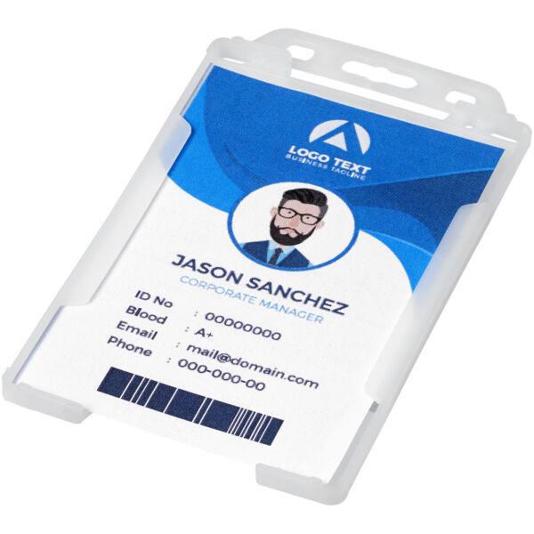 Pierre transparent badge holder (21060602)