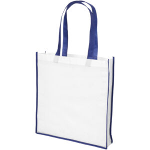 Contrast large non-woven shopping tote bag (21071800)