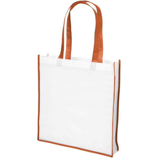 Contrast large non-woven shopping tote bag (21071803)