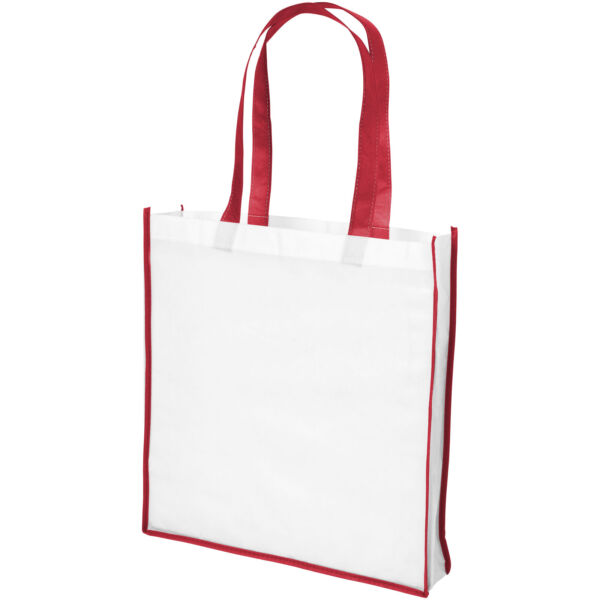 Contrast large non-woven shopping tote bag (21071804)