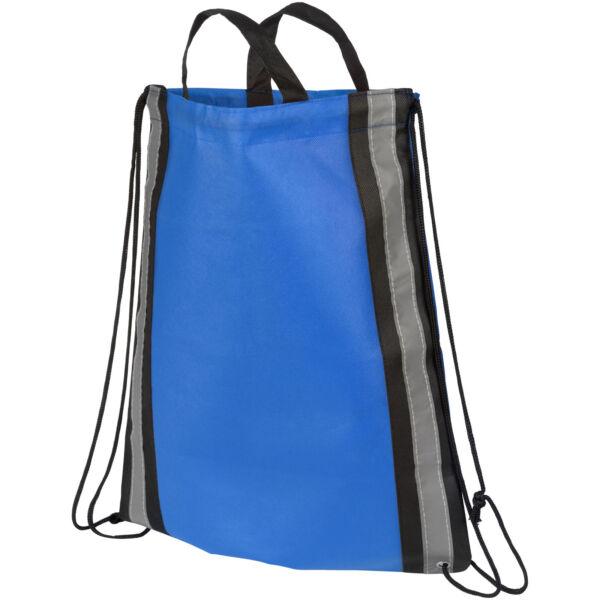 Reflective non-woven drawstring backpack (21072200)